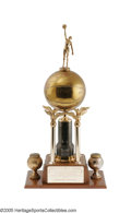 Basketball Collectibles:Others, 1950 Marques Haynes Globetrotter Most Valuable Player Trophy fromthe Marques Haynes Collection. This beautiful award is im...