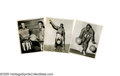 Basketball Collectibles:Others, Goose Tatum Signed Contract, Original Photographs and More from theMarques Haynes Collection. A terrific grouping of memor... (16 )