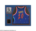 Basketball Collectibles:Others, 2001 Marques Haynes Harlem Globetrotters Retired Jersey from the Marques Haynes Collection. In a fabulous black tie ceremony...