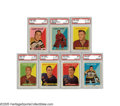 Hockey Cards:Sets, 1958-59 Topps Hockey Near Set (50/66). Early Topps hockey issue includes several Hall of Famers. The set design is similar ...