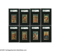 Baseball Cards:Lots, 1888 Goodwin Champions N162 Complete Baseball Set (8). Issued by Old Judge and Gypsy Queen cigarettes, this set remains a f...