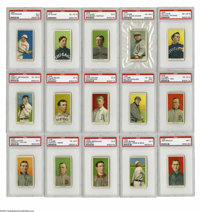 1909-11 T206 White Border Partial Set (400/521). Offered here is a partial set of the American Tobacco Company's classic...