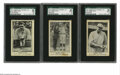 "Baseball Cards:Lots, 1922 American Caramel Co. E121 ""Babe"" Ruth SGC-Graded Lot of 3.Note the quotation marks around the word ""Babe"" in our listi... (3cards)"