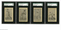 Baseball Cards:Lots, 1922 American Caramel Co. E122 SGC-Graded Lot of 4. Nearlyidentical to the parallel issue of 80 cards released a yearprior... (4 cards)