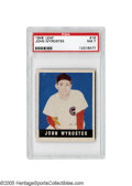 Baseball Cards:Singles (1940-1949), 1948 Leaf John Wyrostek #19 PSA NM 7. Another high-grade example from this artistically adventurous post-war set. The spee...
