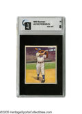 Baseball Cards:Singles (1950-1959), 1950 Bowman Jackie Robinson #22 GAI NM-MT 8. Arguably one of thefinest portraits of this true baseball hero can be found o...