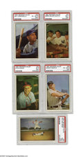 Baseball Cards:Sets, 1953 Bowman Color Baseball Partial Set (112/160). This lot contains a complete 1st Series (1-113) run from the historic Bowm...