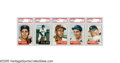Baseball Cards:Sets, 1953 Topps Baseball Complete Set (274). The beautifully designed Topps set, originally intended to consist of 280 cards, is...