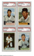 Baseball Cards:Sets, 1954 Bowman Baseball Complete Set (224). In 1954 Bowman followed up the success of the stunning 1953 color set with another ...