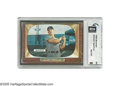 """Baseball Cards:Singles (1950-1959), 1955 Bowman Mickey Mantle #202 GAI NM-MT 8. Known throughout thehobby as the """"T.V. cards,"""" the '55 Bowman set was once con..."""