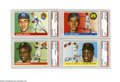 Baseball Cards:Sets, 1955 Topps Baseball Complete Set (206). This was Topps' firsthorizontally oriented baseball issue. The format presented du...