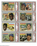 Baseball Cards:Sets, 1956 Topps Baseball High-Grade Partial Set (261/340). This high-grade partial set represents the second consecutive year tha...