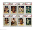 Baseball Cards:Sets, 1957 Topps Baseball High-Grade Partial Set (295/407). This is thefirst Topps issue to feature full color photographs with a...