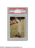Baseball Cards:Singles (1950-1959), 1957 Topps Del Ennis #260 PSA Gem Mint 10. An idea of theridiculous scarcity of a Gem Mint 10 card from this issue? At th...