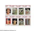 Baseball Cards:Lots, 1957 Topps Baseball PSA-Graded Mint 9 Lot of 8. All grade Mint 9 with no qualifiers. 1) Les Moss #213. 2) Dixie Howell #221....