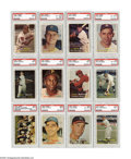 "Baseball Cards:Sets, 1957 Topps Baseball High-Grade Complete Set (411). The popular 1957 Topps issue was their first with the now standard 2.5"" x..."