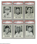 """Baseball Cards:Sets, 1960 Leaf Complete Set (144). While known to the hobby as """"Leaf"""" cards, this set of 144 carries the copyright of Sports Nove..."""