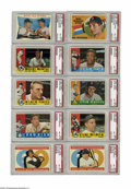 Baseball Cards:Sets, 1960 Topps Baseball Complete High-Grade Set (572). The 1960 Toppsissue was the last year that Topps produced a horizontal i...