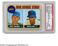 Baseball Cards:Singles (1960-1969), 1968 Topps Nolan Ryan Rookie #177 PSA Mint 9. Far and away the mostimportant and valuable card in the 1968 set is the one ...