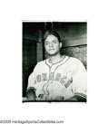Baseball Collectibles:Photos, 1940's-50's Ford Smith Negro League Photograph Archive. Best knownas a star pitcher for the 1946 pennant-winning Kansas Ci...