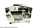Baseball Collectibles:Photos, 1910's Casey Stengel Brooklyn Dodgers Photographs Lot of 8 from theCasey Stengel Collection. Casey poses in the uniform of...