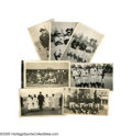 Baseball Collectibles:Photos, 1922 Baseball Tour of Japan Photographic Archive from the CaseyStengel Collection. More than 200 snapshots offer the first...