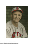 Baseball Collectibles:Photos, 1939 Casey Stengel Color Presentational Photograph by Burke fromthe Casey Stengel Collection. Collectors of the work of le...