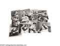 Baseball Collectibles:Photos, 1955 World Series Oversized Wire Photographs Lot of 13 from theCasey Stengel Collection. Though it didn't end well for the...