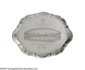 Baseball Collectibles:Others, 1962 Casey Stengel New York Mets Presentational Silver Tray fromthe Casey Stengel Collection. Spectacularly rendered prese...