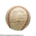 Autographs:Baseballs, St. Louis Cardinals & New York Yankees Legends Signed Baseballfrom the Casey Stengel Collection. Remembering some classic ...