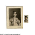 "Baseball Collectibles:Photos, Circa 1910 Frank Baker Studio Photograph by Horner, Used for M116Sporting Life from the Frank ""Home Run"" Baker Collection. ..."