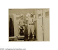 "Baseball Collectibles:Photos, Circa 1910 Philadelphia Athletics Locker Room Photograph from theFrank ""Home Run"" Baker Collection. Imagine the treasures ..."