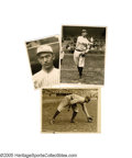 "Baseball Collectibles:Photos, Late 1910's Frank ""Home Run"" Baker New York Yankees Photographs Lotof 3 from the Frank ""Home Run"" Baker Collection. Direct..."