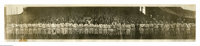 """1911 Addie Joss Day Panoramic Photograph from the Frank """"Home Run"""" Baker Collection. Arguably the most desirab..."""