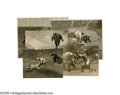 """Baseball Collectibles:Photos, 1920's Muddy Ruel """"Action"""" Wire Photographs Lot of 5 from the Herold """"Muddy"""" Ruel Collection. Fantastic selection of five s..."""