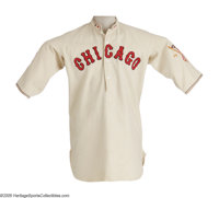 """1924 Muddy Ruel Game Worn Tour of Europe Uniform from the Herold """"Muddy"""" Ruel Collection. It's among the most..."""