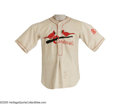 Baseball Collectibles:Uniforms, 1929-30 Syl Johnson Game Worn Uniform. A nineteen-year veteran of the Big Leagues, Johnson's career was plagued by injury, ... (2 Items)