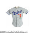 Baseball Collectibles:Uniforms, 1991 Gary Carter Spring Training Game Worn Uniform. UPDATE: Please note that the proper MEARS grade for this lot is A10, no...