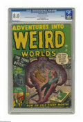 Golden Age (1938-1955):Horror, Adventures Into Weird Worlds #2 Bethlehem pedigree (Atlas, 1952)CGC VF 8.0 Cream to off-white pages. Joe Maneely and George...