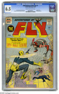 Silver Age (1956-1969):Superhero, Adventures of the Fly #1 (Archie, 1959) CGC FN+ 6.5 Cream to off-white pages. Origin of the Fly. Shield appearance. Cover, a...