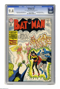 Batman #153 (DC, 1963) CGC NM 9.4 Cream to off-white pages. Batwoman cover and story. Sheldon Moldoff cover and art. CGC...