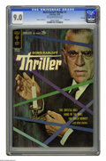 Silver Age (1956-1969):Mystery, Boris Karloff Thriller #1 File Copy (Gold Key, 1962) CGC VF/NM 9.0Off-white to white pages. Photo cover. Alberto Giolitti a...
