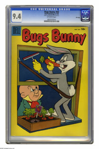 Bugs Bunny #43 File Copy (Dell, 1955) CGC NM 9.4 Off-white pages. This is currently the highest grade awarded by CGC for...