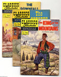 Golden Age (1938-1955):Classics Illustrated, Classics Illustrated Original Editions Group (Gilberton, 1953-61) Condition: Average VG/FN. Twelve-issue group lot includes ... (12 Comic Books)