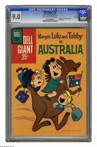 Dell Giants #42 File Copy (Dell, 1961) CGC VF/NM 9.0 Off-white to white pages. Featuring Marge's Little Lulu and Tubby i...