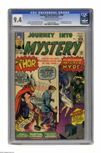 Journey Into Mystery #99 (Marvel, 1963) CGC NM 9.4 Cream to off-white pages. Mr. Hyde and Surtur make their first appear...