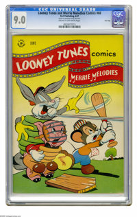 Looney Tunes and Merrie Melodies Comics #68 File Copy (Dell, 1947) CGC VF/NM 9.0 Cream to off-white pages. Overstreet 20...