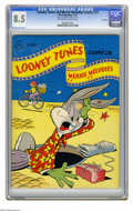 Golden Age (1938-1955):Cartoon Character, Looney Tunes and Merrie Melodies Comics #73 File Copy (Dell, 1947)CGC VF+ 8.5 Off-white to white pages. Overstreet 2005 VF ...