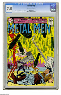 Metal Men #1 (DC, 1963) CGC FN/VF 7.0 Off-white to white pages. Ross Andru and Mike Esposito cover and art. Overstreet 2...