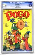 Golden Age (1938-1955):Funny Animal, Pogo Possum #10 Big Apple Pedigree (Dell, 1952) CGC VF- 7.5 Creamto off-white pages. Walt Kelly infinity cover and art. Ove... (1 )